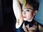 Madonna exibe axila não depilada