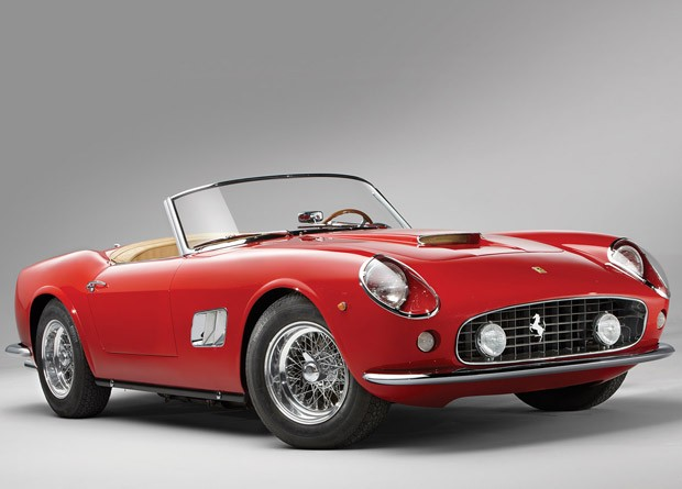 Ferrari 250 GT California Spyder, de 1962 (Foto: Divulga&#231;&#227;o)