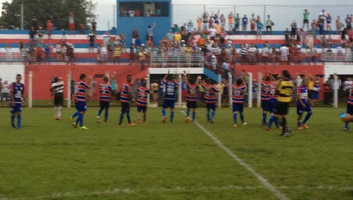 Tocantins vence o Interporto na segunda rodada do Tocantinense (Foto: Vilma Nascimento/GloboEsporte.com)