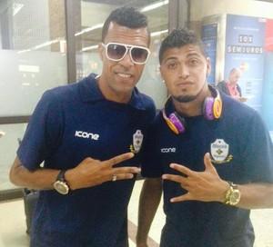 Laerte e Romário, macaé (Foto: Reprodução)