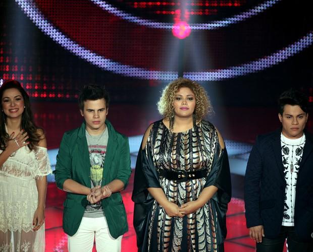 Liah, Danilo, Alma e Pedro (Foto: The Voice Brasil / Tv Globo)