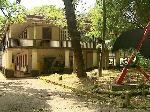 Museu Histórico de Ribeirão Preto é interditado por tempo indeterminado. (Foto: Alexandre Sá/EPTV)