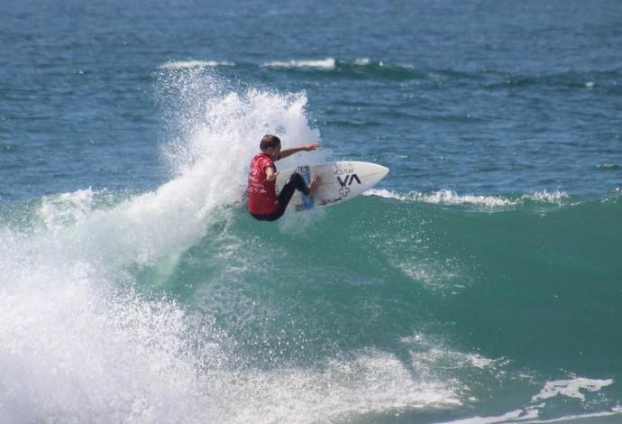 Tyler Gunter surfista de New Port diz que viu crocodilo na Costa Rica, e evento é paralisado (Foto: Divulgação/WSL)