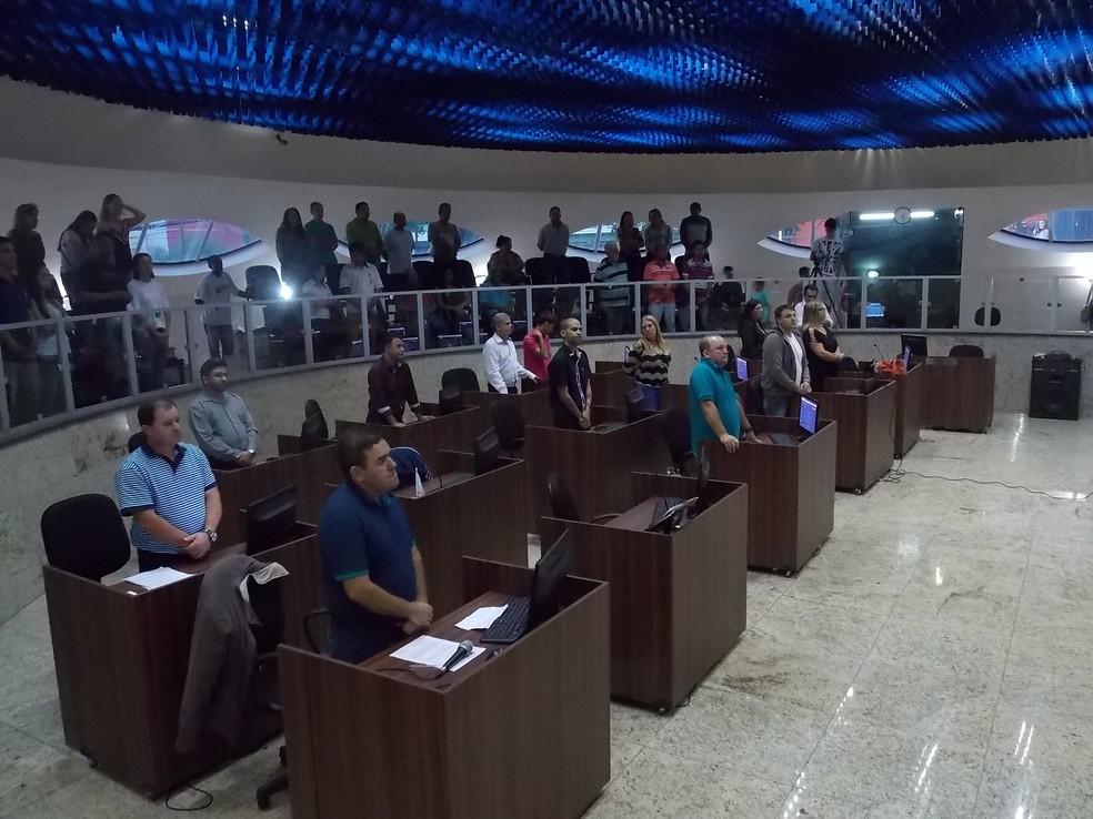 'Programa Conduz' foi votado durante sessão nesta terça-feira (23) na Câmara de Itaúna (Foto: Câmara de Itaúna/Divulgação)