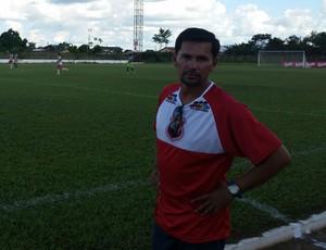 Hernan Oliveira, técnico do Guajará (Foto: Dayanne Saldanha)