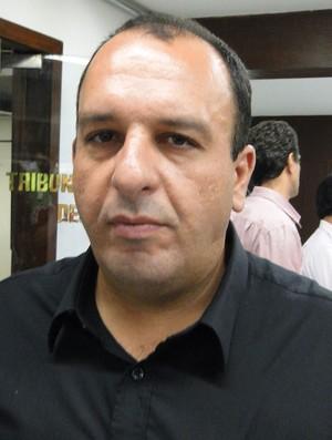 Roger Galvão, diretor de futebol do Nacional de Nova Serrana (Foto: Marco Astoni / Globoesporte.com)