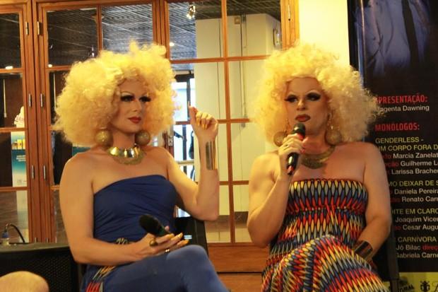 Drags Sara Lola e Nina Paola (Foto: Divulgação)