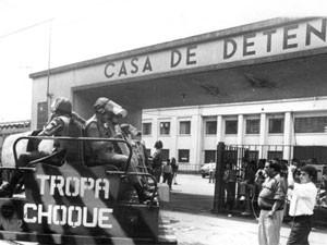 Foto da época do massacre, em 1992 (Foto: Arquivo Diário de S.Paulo/G1)