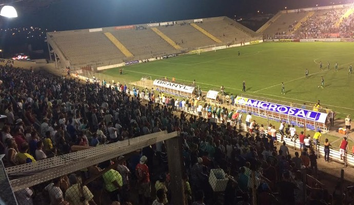 Arena Capivari - Chapecoense x São Paulo (Foto: Murilo Borges)