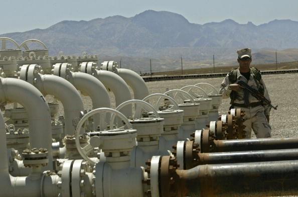Plataforma de petróleo no Iraque (Foto: Getty Images)