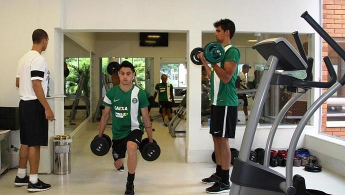 Coritiba preparação física academia Foz do Iguaçu (Foto: Divulgação / Site oficial do Coritiba)