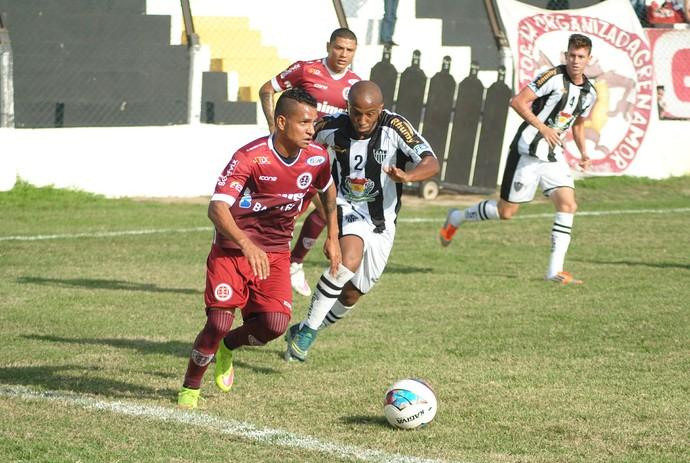 Copa Espírito Santo 2016: Atlético-ES x Desportiva Ferroviária (Foto: Henrique Montovanelli/Desportiva Ferroviária)