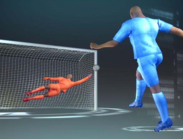 ciencia do futebol esporte espetacular (Foto: Reprodução TV Globo)