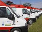 Novas ambulâncias do Samu são entregues para 18 cidades baianas