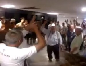 Eurico Miranda, vasco, casaca, vestiário do Maracanã (Foto: Reprodução Youtube)