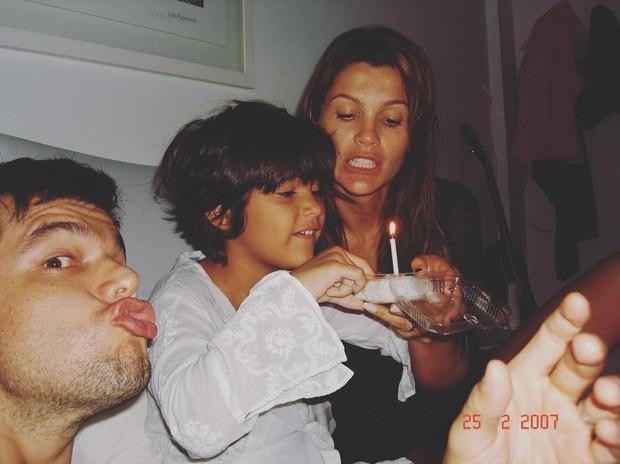 Giulia Costa posta foto com Otaviano Costa e Flavia Alessandra (Foto: Reprodução/Instagram)