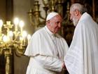 Papa diz que violência é contraditória para as 3 grandes religiões