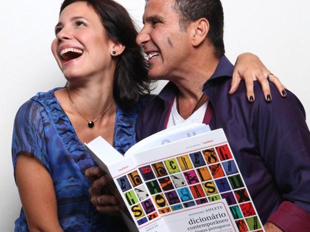 """Eri Johnson e Juliana Knust são os protagonistas de """"Pequeno dicionário"""" (Foto: Divulgação)"""