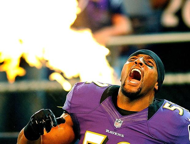 Ray Lewis NFL Baltimor Ravens (Foto: AP)