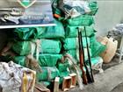 PF acha 500 kg de cocaína em mata e prende 7 pessoas em fazenda de MT