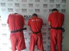 Três são presos depois de matar um homem e balear 2 em Montes Claros