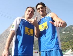 ricardinho giba seleção brasileira vôlei (Foto: Divulgação / CBV)