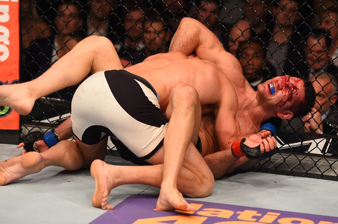 Luke Rockhold Chris Weidman UFC 194 (Foto: Getty Images)