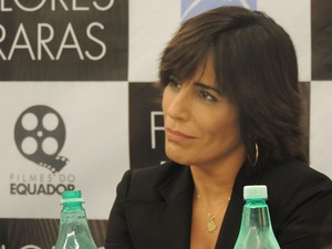 Glória Pires interpreta Lota de Macedo Soares  (Foto: Gessica Valentini/G1 SC)