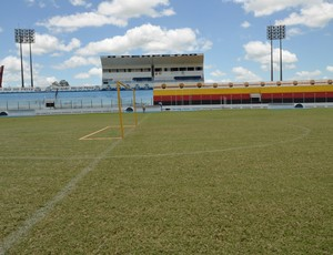 Estádio Perpetão, em Cajazeiras, na Paraíba (Foto: Juliana Santos / Jornal da Paraíba)
