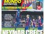 Após questionar Neymar, imprensa espanhola exalta boa fase do brasileiro
