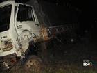 Acidente de carro e caminhão mata homem entre Imbituva e Ivaí, no PR