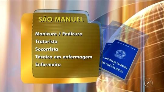 Confira as oportunidades de emprego disponíveis em Ourinhos, São Manuel e Marília