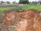 Cratera pode causar desabamento de trecho da TO-222 em Araguaína