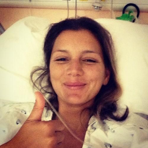 Foto (Foto: Maya no hospital - Foto: Reprodução Facebook)