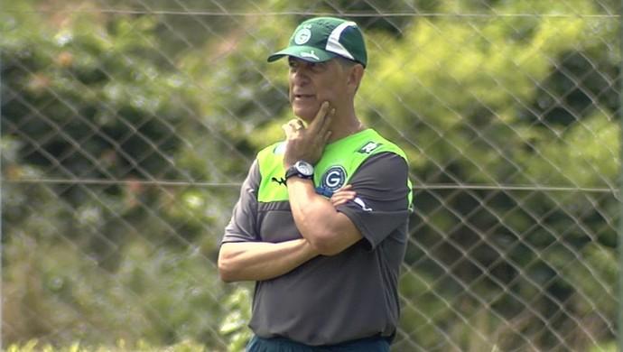 Ricardo Drubscky - técnico do Goiás (Foto: Reprodução / TV Anhanguera)