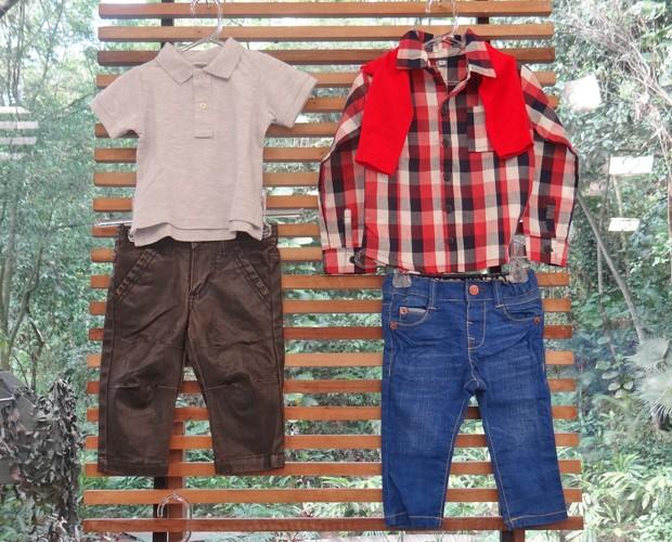 Sobreposição de roupas é uma boa dica para os meninos (Foto: Mais Você / TV Globo)
