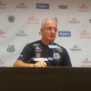 Dorival Júnior, técnico do Santos (Foto: Bruno Giufrida)