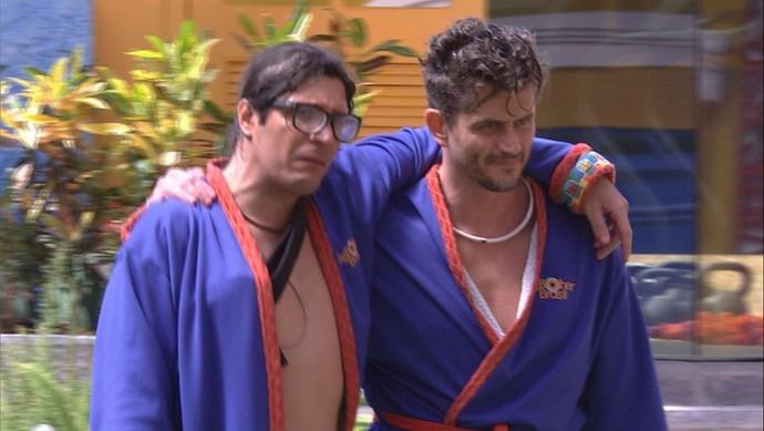 Ilmar e Marcos BBB17 (Foto: Gshow)