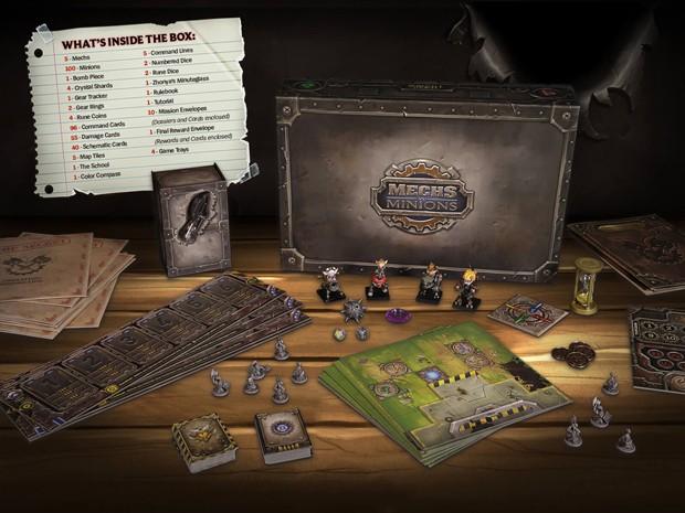 'Mechs vs Minions' é jogo de tabuleiro no universo de 'League of Legends' (Foto: Divulgação/Riot Games)