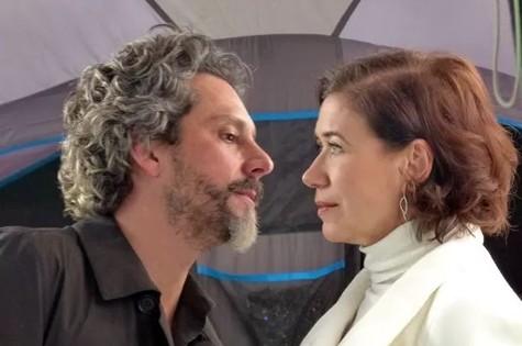 Alexandre Nero e Lilia Cabral em cena de 'Império' (Foto: Pedro Curi/TV Globo)