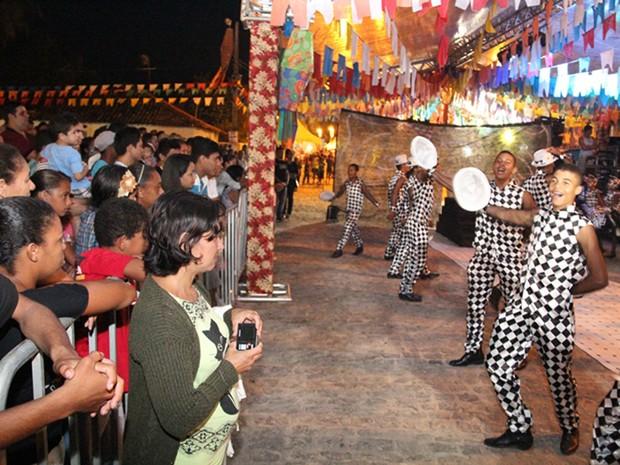 Festa de São João do Conde, Litoral Sul, acontece nas comunidades rurais e mantém clima familiar de festa no interior. (Foto: Stanley Talião / Setur Conde)