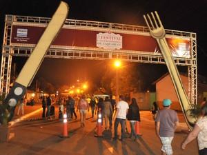 Esta edição o Festival Gastronômico de Taquaruçu acontece de 27 a 31 de agosto (Foto: Valério Zelaya/Secom Palmas)