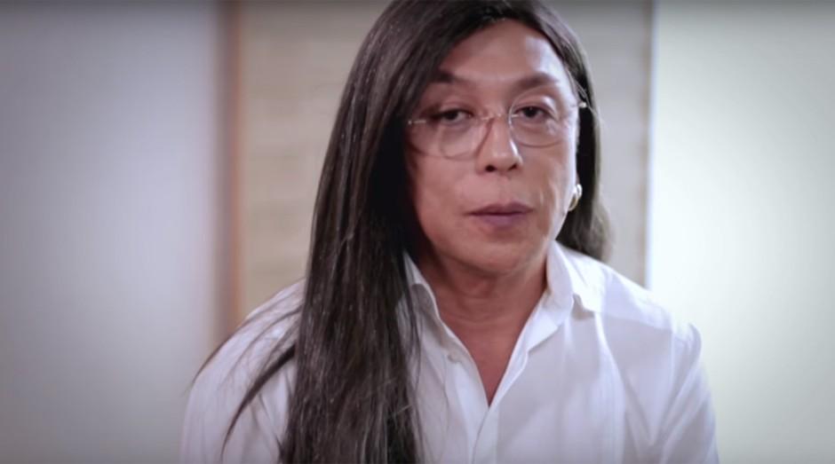 Celso Kamura é maquiador e cabeleireiro de famosos (Foto: Reprodução)
