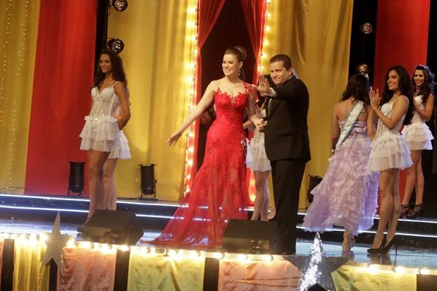 Rayanne Morais no concurso Miss Universo RJ (Foto: Delson Silva/Ag News)