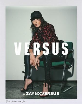 Bella Hadid estrela campanha da coleção de Zayn Malik para a Versus (Foto: Divulgação)