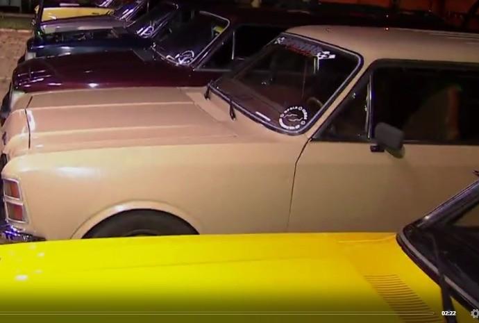 Modelo de carro foi sucesso nos anos 80! (Foto: Reprodução / TV TEM)