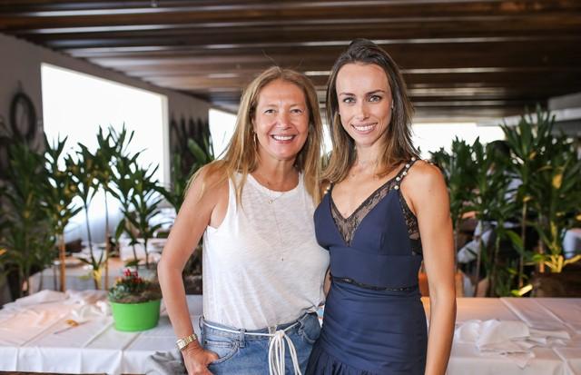 Donata Meirelles e Silvia Monteiro (Foto: Higor Blanco)