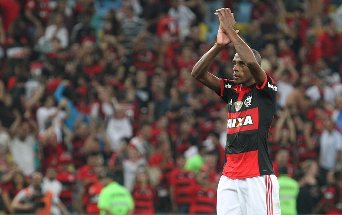 Marcelo, Flamengo, torcida, Flamengo x Atlético (Foto: Gilvan de Souza/Fla Imagem)