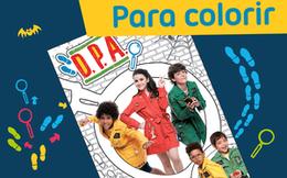 [Para Colorir] Álbum D.P.A.