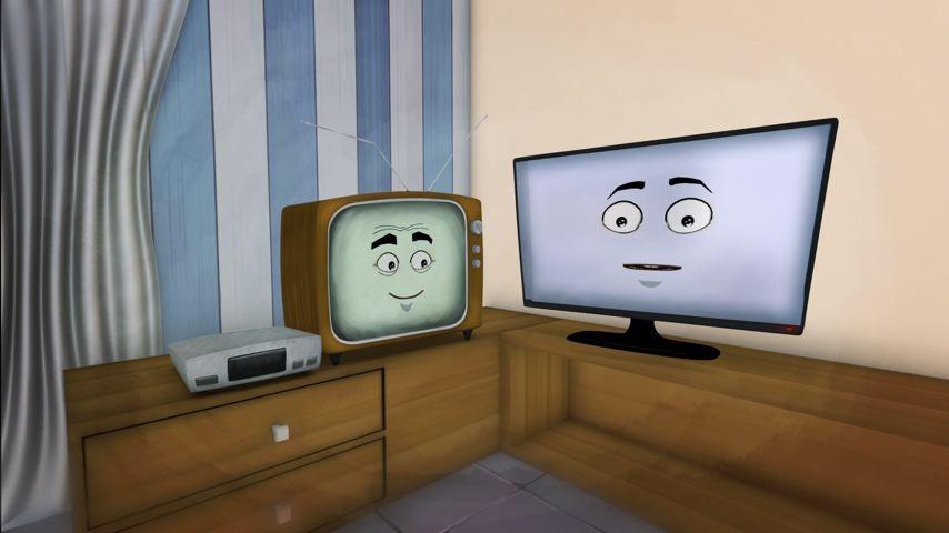 Tubo e Digi na campanha da TV Gazeta (Foto: Divulgação/ TV Gazeta)